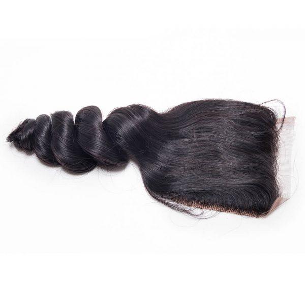 loose wave hair lace closure