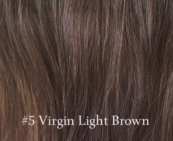 virgin russian hair light brown